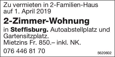 2-Zimmer-Wohnung in Steffisburg zu vermieten