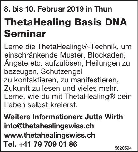ThetaHealing Basis DNA Seminar, 8. - 10. Februar, Thun