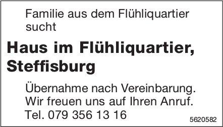 Haus im Flühliquartier, Steffisburg gesucht