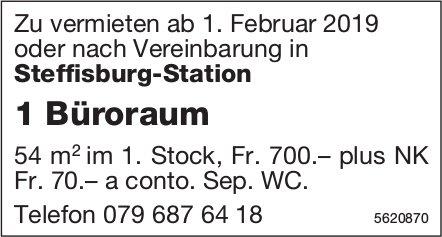 1 Büroraum in Steffisburg-Station