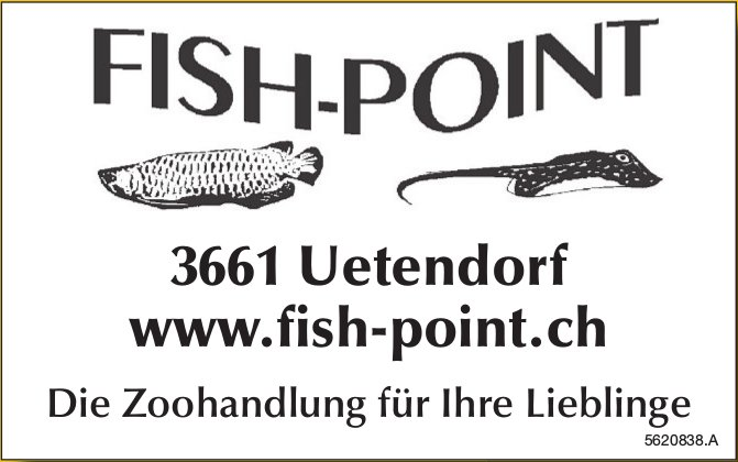 FISH-POINT - Die Zoohandlung für Ihre Lieblinge