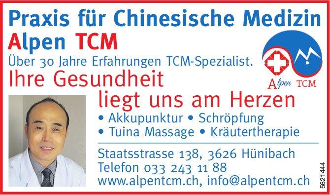 Praxis für Chinesische Medizin Alpen TCM - Ihre Gesundheit liegt uns am Herzen