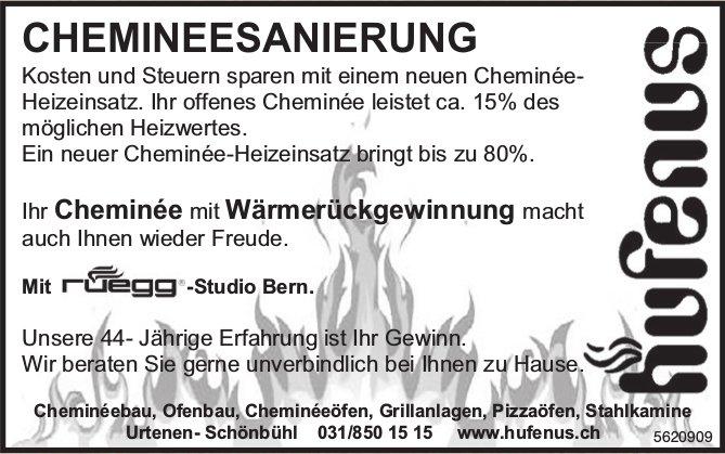 Hufenus - Ihr Cheminée mit Wärmerückgewinnung macht auch Ihnen wieder Freude.
