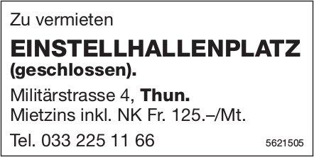 EINSTELLHALLENPLATZ (geschlossen) in Thun zu vermieten