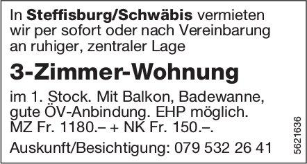 3-Zimmer-Wohnung in Steffisburg / Schwäbis zu vermieten