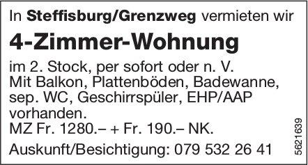 4-Zimmer-Wohnung in Steffisburg/Grenzweg zu vermieten