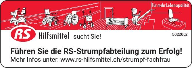 RS Hilfsmittel sucht Sie! - Führen Sie die RS-Strumpfabteilung zum Erfolg!