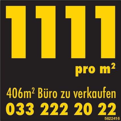 406m² Büro zu verkaufen