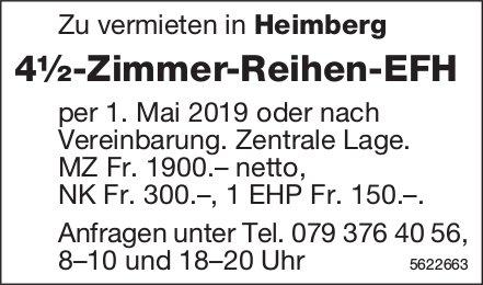 4½-Zimmer-Reihen-EFH in Heimberg zu vermieten