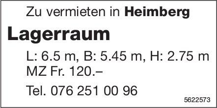 Lagerraum in Heimberg zu vermieten