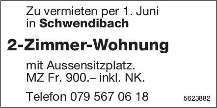 2-Zimmer-Wohnung in Schwendibach zu vermieten