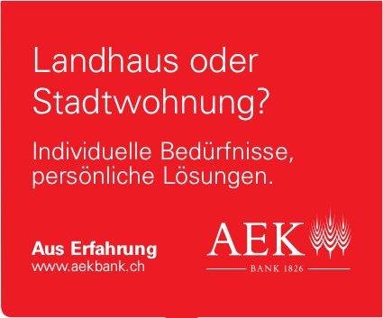 AEK Bank - Landhaus oder Stadtwohnung?