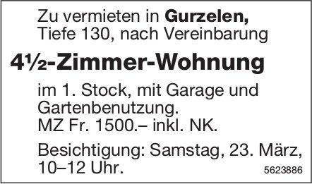 4½-Zimmer-Wohnung in Gurzelen zu vermieten / Besichtigung am 23. März