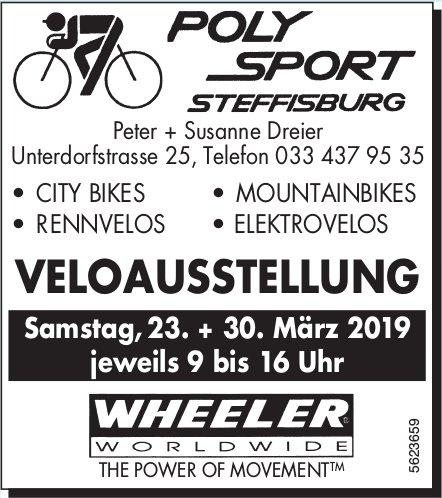 Poly Sport Steffisburg - Veloausstellung, 23. + 30. März