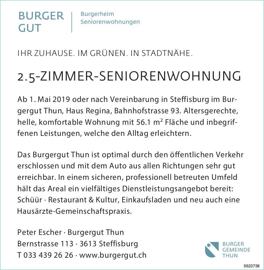 2.5-ZIMMER-SENIORENWOHNUNG IM BURGER GUT IN STEFFISBURG ZU VERMIETEN