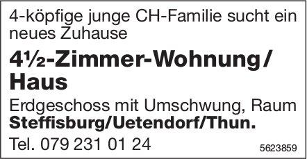 4½-Zimmer-Wohnung / Haus Raum Steffisburg/Uetendorf/Thun gesucht