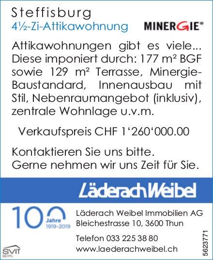 4½-Zi-Attikawohnung in Steffisburg zu verkaufen