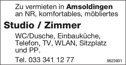 Studio / Zimmer in Amsoldingen