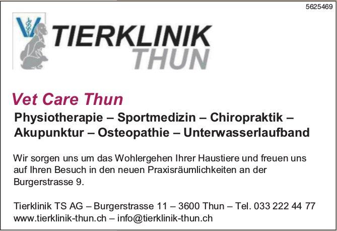 Tierklinik TS AG - Vet Care Thun