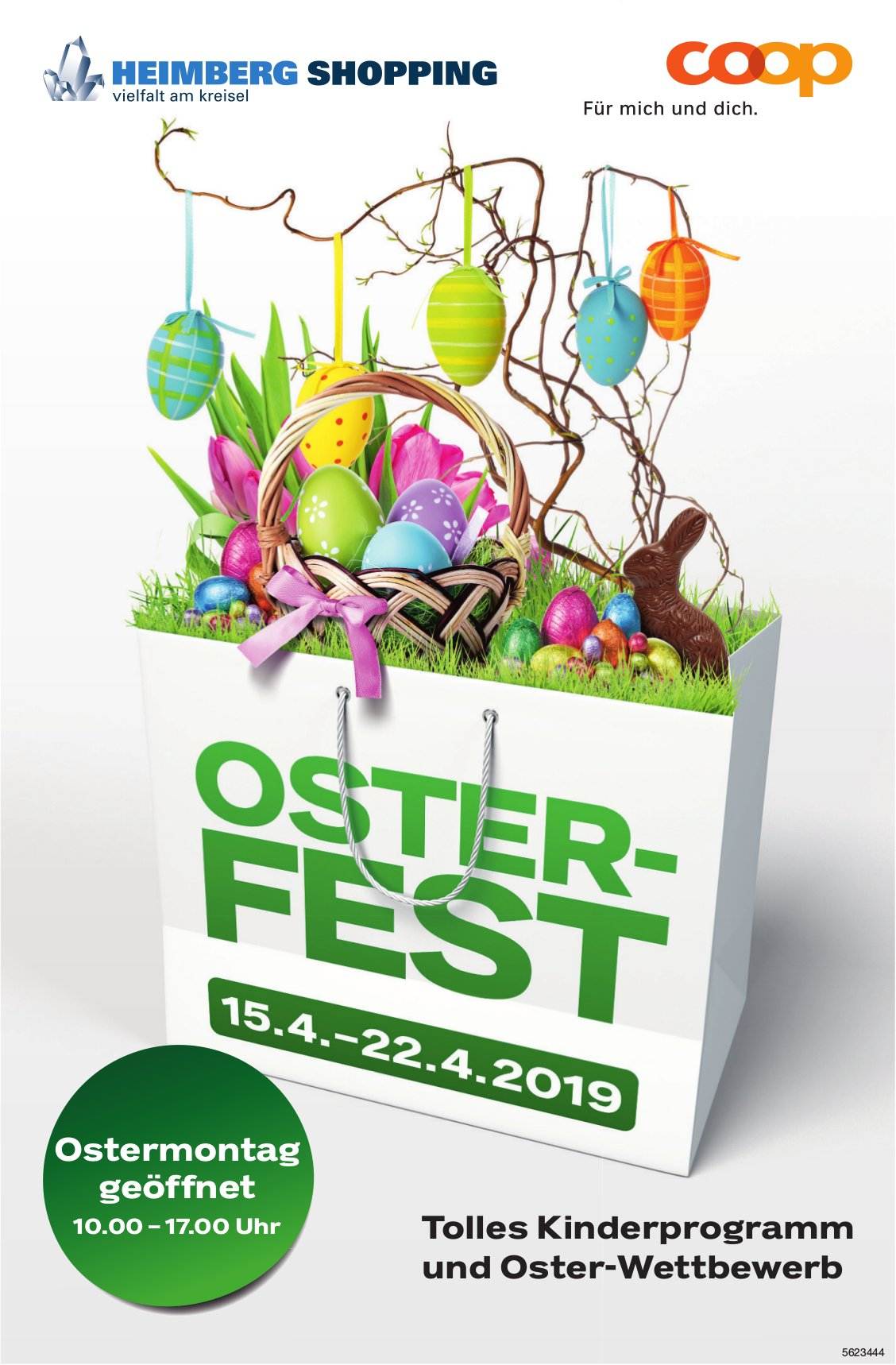COOP Heimberg Shopping - OSTERFEST, 15. - 22. April