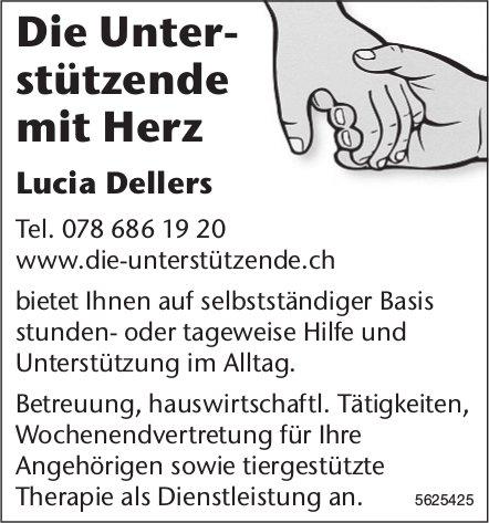 Die Unterstützende mit Herz - Lucia Dellers