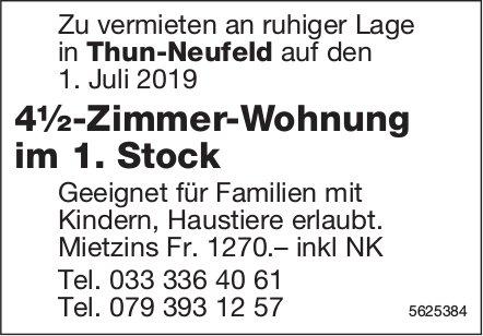 4½-Zimmer-Wohnung in Thun-Neufeld zu vermieten