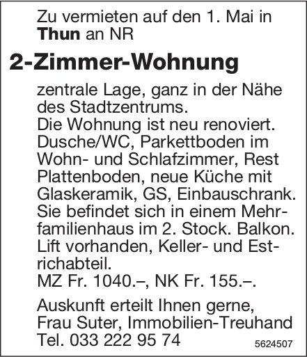 2-Zimmer-Wohnung in Thun zu vermieten