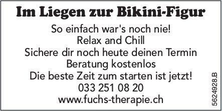 Fuchs Therapie - Im Liegen zur Bikini-Figur