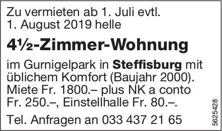 4½-Zimmer-Wohnung im Gurnigelpark in Steffisburg zu vermieten