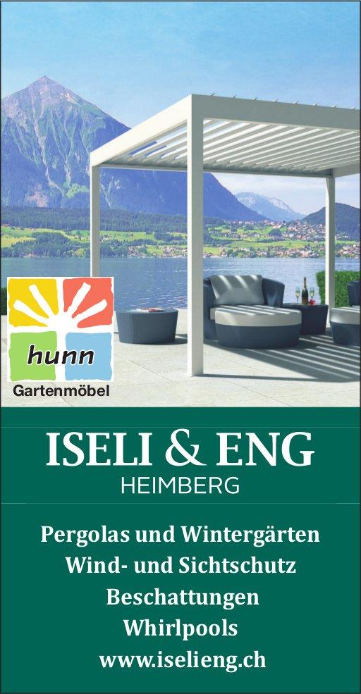 ISELI & ENG HEIMBERG - Pergolas und Wintergärten / Wind- und Sichtschutz