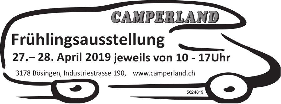 CAMPERLAND - Frühlingsausstellung, 27.-28. April