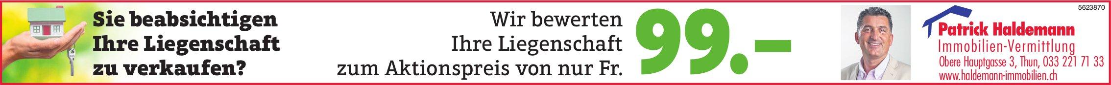 Patrick Haldemann, Immobilien-Vermittlung, Thun