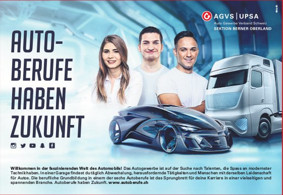 AGVS | UPSA - AUTO- BERUFE HABEN ZUKUNFT