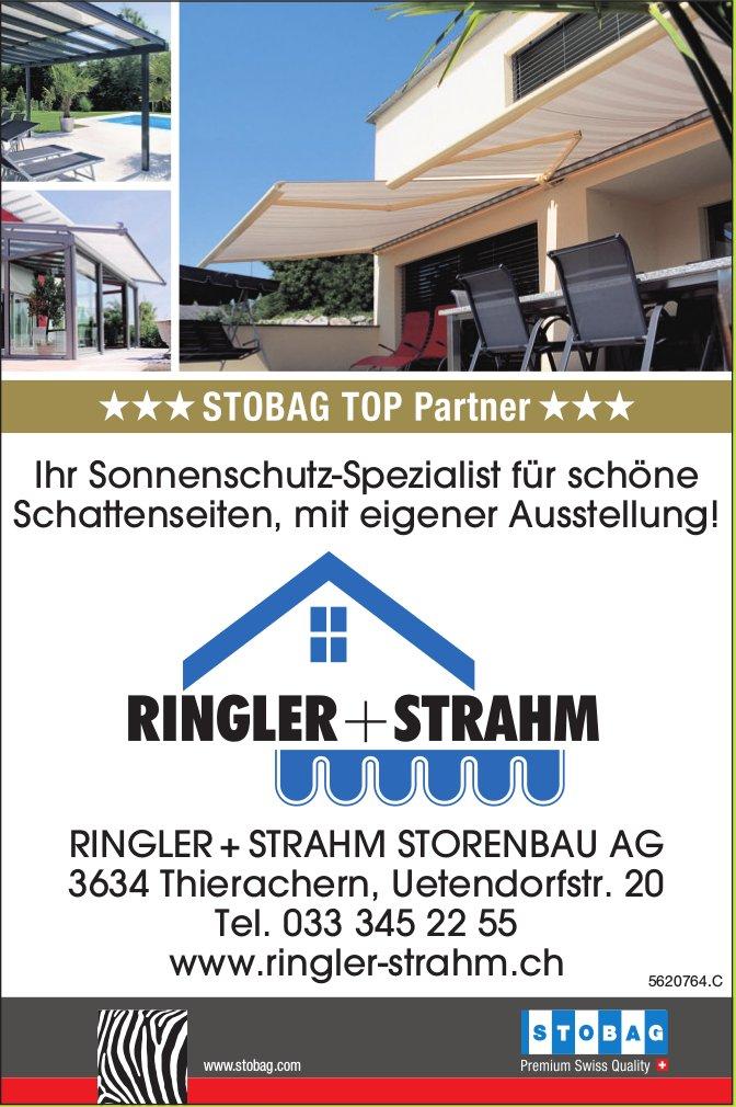 RINGLER + STRAHM STORENBAU AG - Ihr Sonnenschutz-Spezialist für schöne Schattenseiten