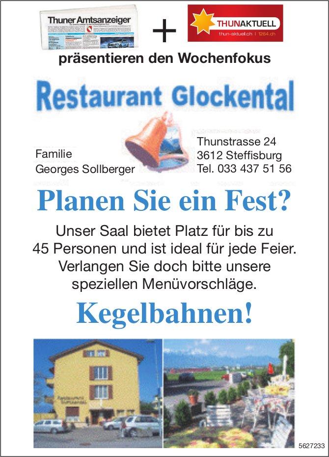 Restaurant Glockental - Planen Sie ein Fest? Kegelbahnen!