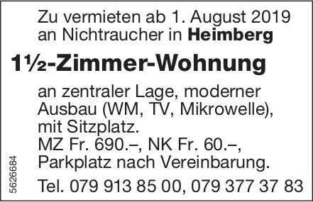 1½-Zimmer-Wohnung in Heimberg zu vermieten