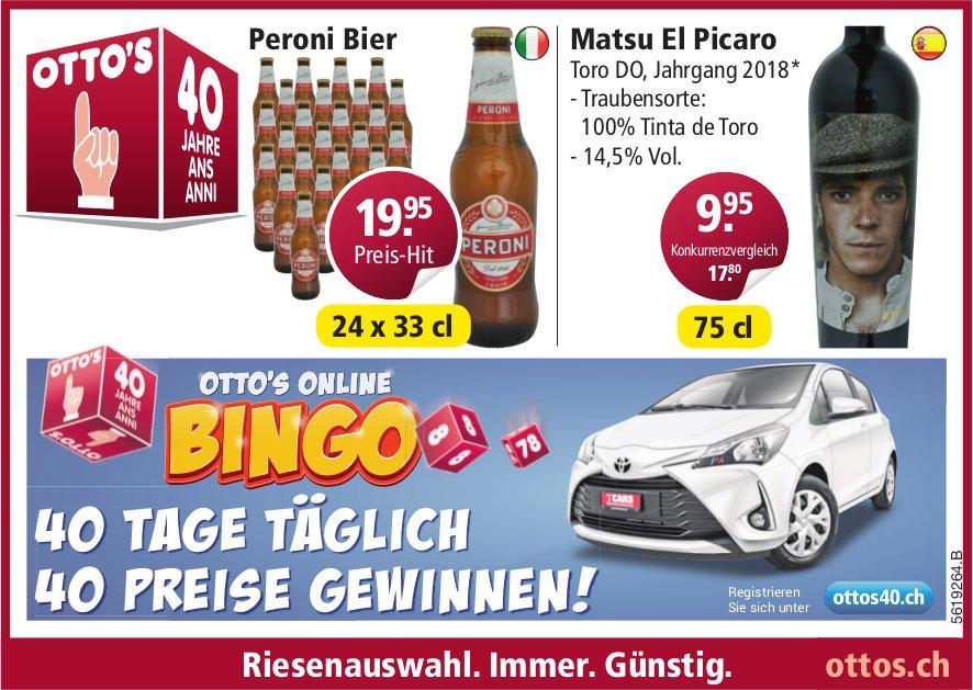 OTTO'S ONLINE BINGO - 40 TAGE TÄGLICH 40 PREISE GEWINNEN!