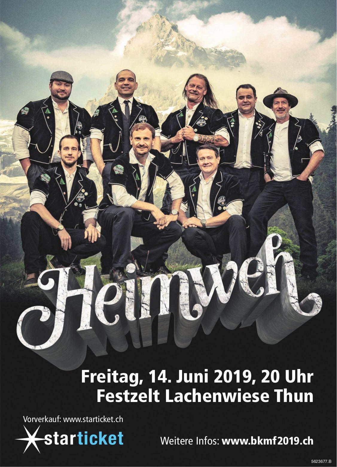 """""""Heimweh"""", Festzelt Lachenwiese Thun, 14. Juni"""