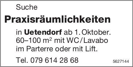Suche Praxisräumlichkeiten in Uetendorf