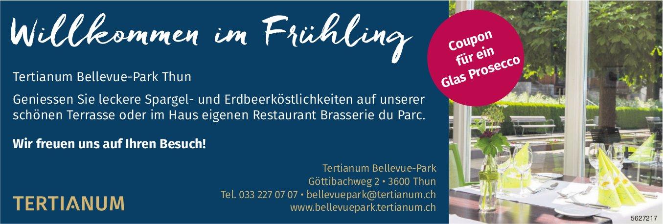 Tertianum Bellevue-Park Thun - Willkommen im Frühling