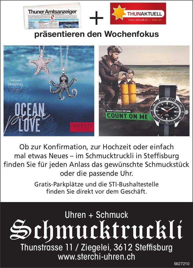 Uhren + Schmuck Schmucktruckli, Steffisburg - für jeden Anlass das gewünschte Schmuckstück