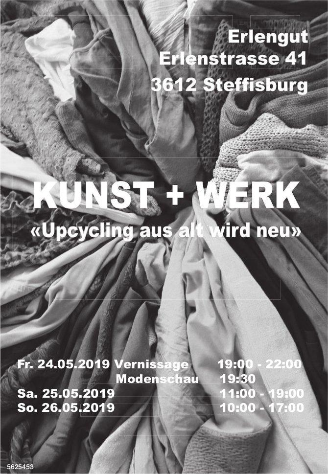 """KUNST + WERK """"Upcycling aus alt wird neu"""", 24./25./26. Mai"""