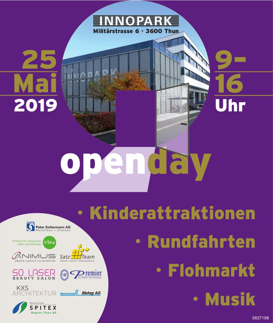 INNOPARK - Open Day am 25. Mai