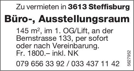 Büro-, Ausstellungsraum in Steffisburg zu vermieten