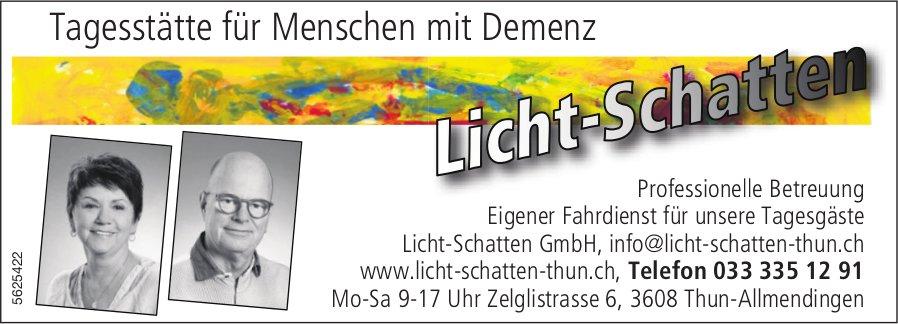 Licht-Schatten GmbH, Thun-Allmendingen - Tagesstätte für Menschen mit Demenz