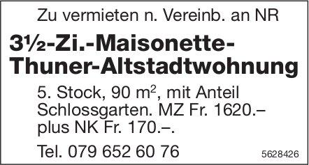 3½-Zi.-Maisonette-Thuner-Altstadtwohnung zu vermieten