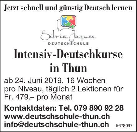 Intensiv-Deutschkurse in Thun - Jetzt schnell und günstig Deutsch lernen