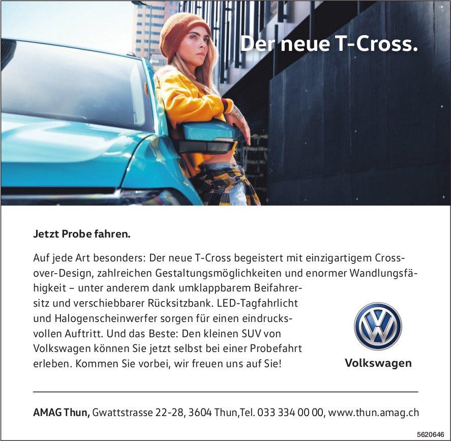 AMAG Thun - Der neue T-Cross.