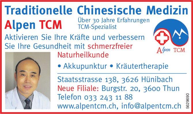 Traditionelle Chinesische Medizin Alpen TCM