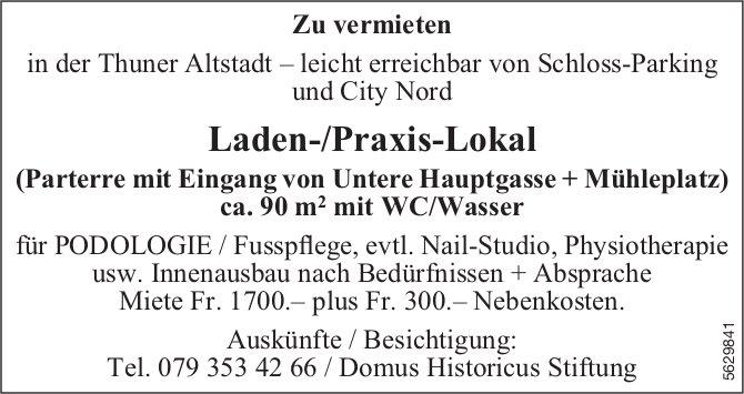 Laden-/Praxis-Lokal in der Thuner Altstadt zu vermieten